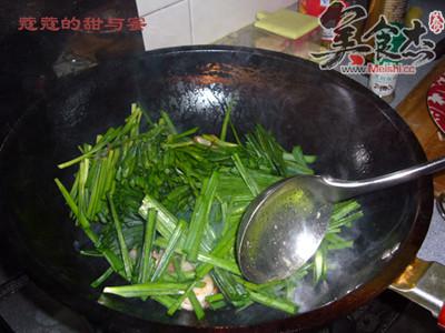 韭菜炒虾仁的做法图解