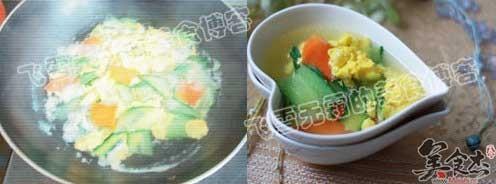 黄瓜鸡蛋汤的家常做法
