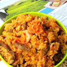 韩国泡菜炒饭