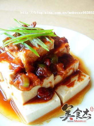 酱蒸豆腐的做法