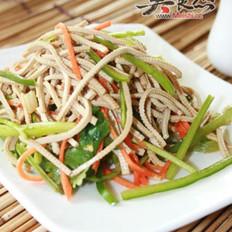 青椒豆腐丝