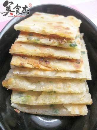 蔥油餅的做法