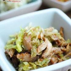 煎鸡生菜热沙拉