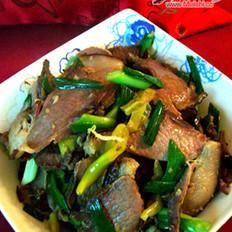 泡椒炒野猪肉