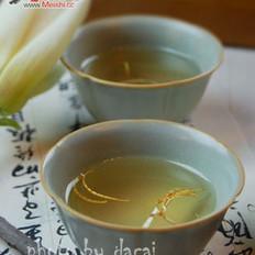 玉兰花蜂蜜茶