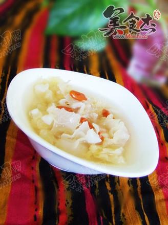 荔枝银耳润肺养颜汤的做法