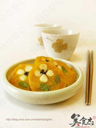 坚果南瓜饼的做法
