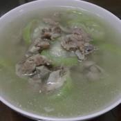 秋瓜排骨汤的做法