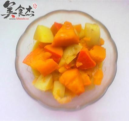 土豆炖南瓜的做法图解