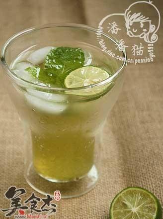 薄荷青柠檬水的做法