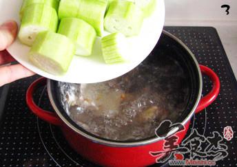 甘草丝瓜汤的家常做法