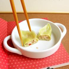 泡菜豆腐水餃