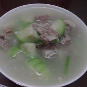 排骨秋瓜汤的做法