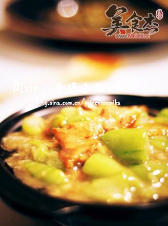 絲瓜炒肉片的做法