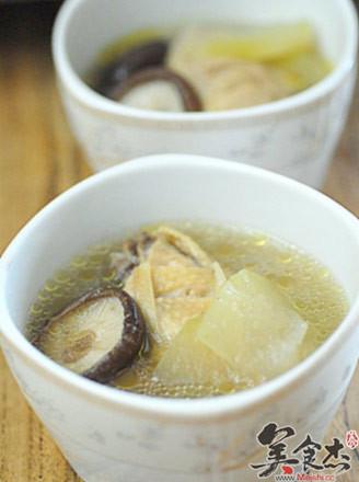 香菇冬瓜雞湯的做法