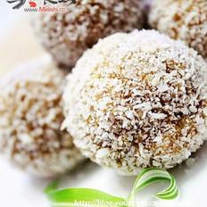 蛋白咖啡椰酥球