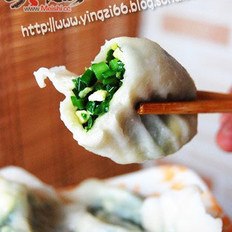 韭菜水饺+韭菜盒子