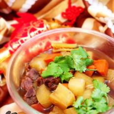 萝卜牛肉煲