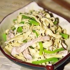 東北尖椒干豆腐