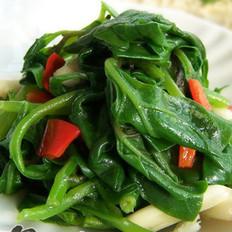 清炒豌豆尖