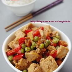 素烧什锦豆腐