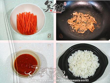 韩式石锅拌饭的简单做法
