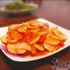 西红柿炒山药