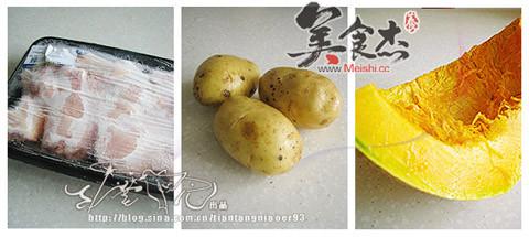 土豆南瓜炖鸡的做法大全