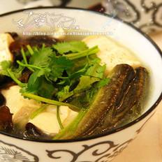 泥鳅豆腐汤的做法