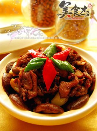 干锅香菇鸭的做法