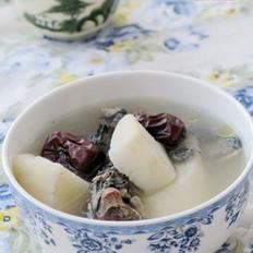 山药红枣乌鸡汤