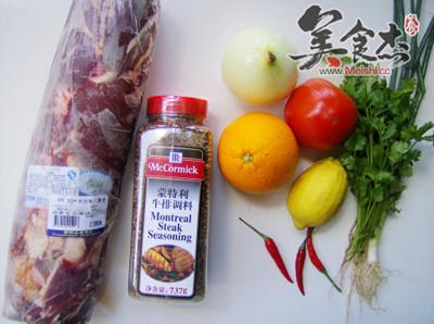 烤羊肉佐莎莎酱的做法大全