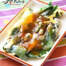 台南传统小吃—蚵仔煎