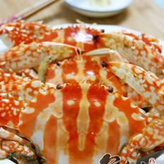胡椒粉焖大花蟹