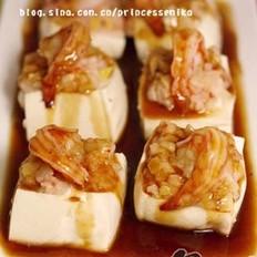 鲍汁蒸酿豆腐