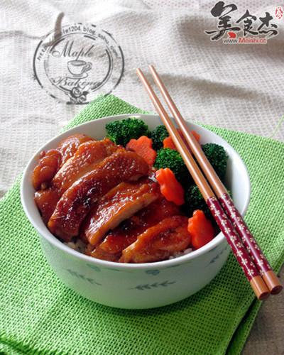 日式照烧鸡腿饭的家常做法