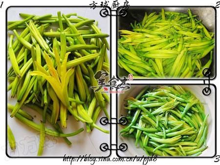 黄花菜炒木耳的做法大全
