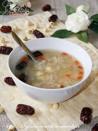 糯米银耳莲子粥的做法