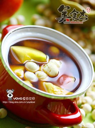 莲子桃子番茄汤的做法