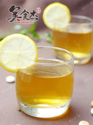 柠檬蜂蜜绿茶的做法
