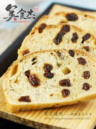 燕麦葡萄干汤种面包的做法