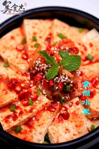 石锅辣白菜豆腐的做法图解