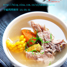 板栗蔬菜龙骨汤