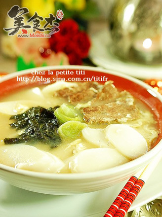 韩式年糕汤的做法