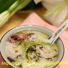 排骨香菇粥