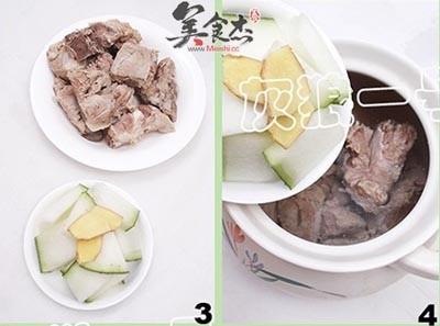 薏米排骨冬瓜汤的做法图解