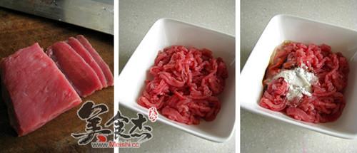 香菜牛肉丝的做法图解