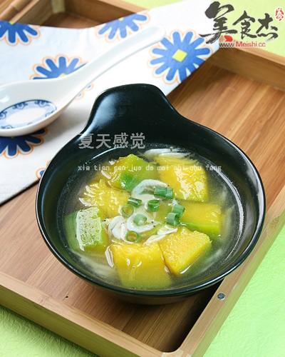 南瓜虾皮汤的做法图解