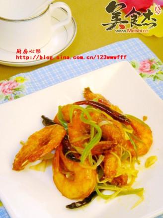 炸烹海虾的做法