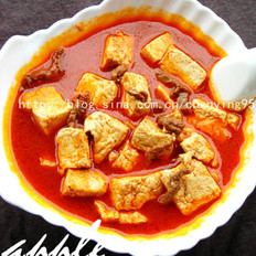 韩式牛肉豆腐汤